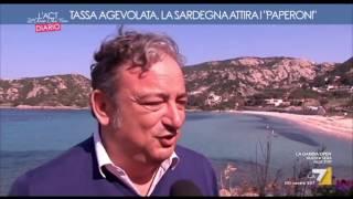 La7 · L'Aria Che Tira - Tassa agevolata, la Sardegna attira i paperoni