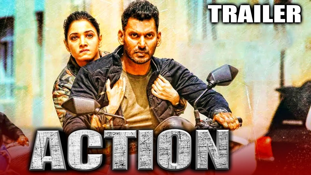 Download Action 2020 Official Trailer 2 Hindi Dubbed | Vishal, Tamannaah, Aishwarya Lekshmi