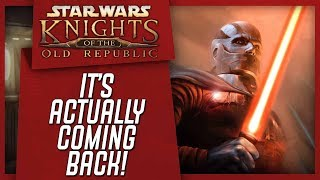 Knights Of The Old Republic MOVIE TRILOGY Reportedly In Development!!