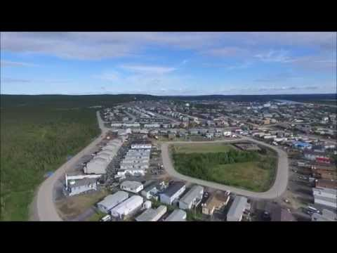 Inuvik From Above - 1080P