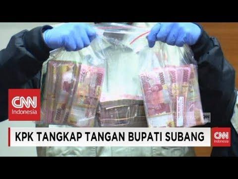 FULL- KPK Tangkap Tangan Bupati Subang, Imas Aryumningsih