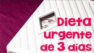 Dieta de 3 días para adelgazar urgente | APERDERPESO.COM