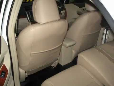 Toyota Allion 260-Leather Seat Covers,Carpeting,done by VIP Car interiors in srilanka