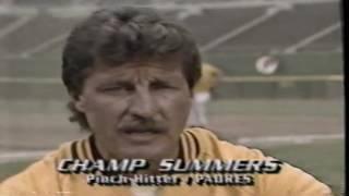 Crazy Brawl Atlanta Braves vs San Diego Padres 1984