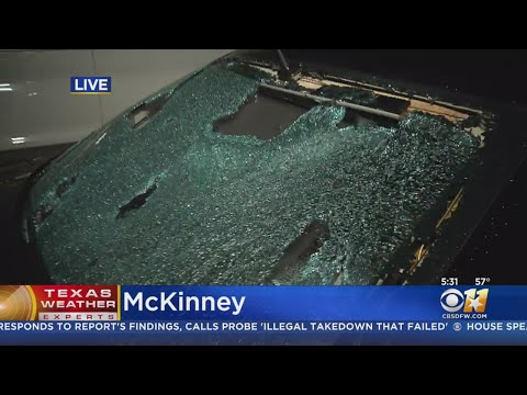 Jeff K - Incredible Footage Of Hail Damage In Collin County