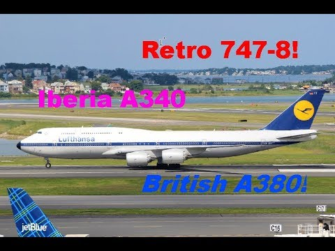 Wide Bodied Exclusive! | Boston Logan International Airport Spotting- Part One