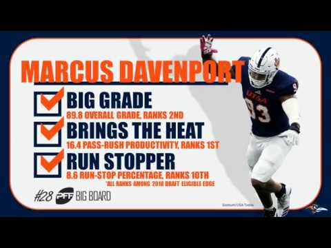 Marcus Davenport Scouting Report | PFF NFL Draft