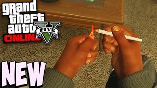 GTA 5 Next Gen - SMOKING WEED First Person PS4 Gameplay (GTA 5 Online Gameplay)