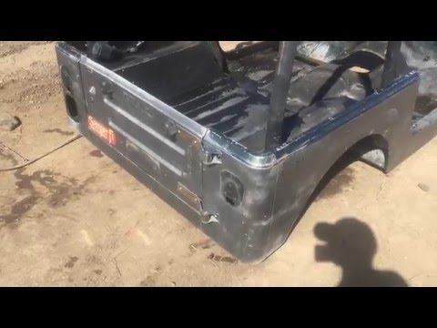 1987-1995 or CJ7 Conversion Jeep Wrangler YJ Tub / Body for Sale We Crate and Ship World Wide