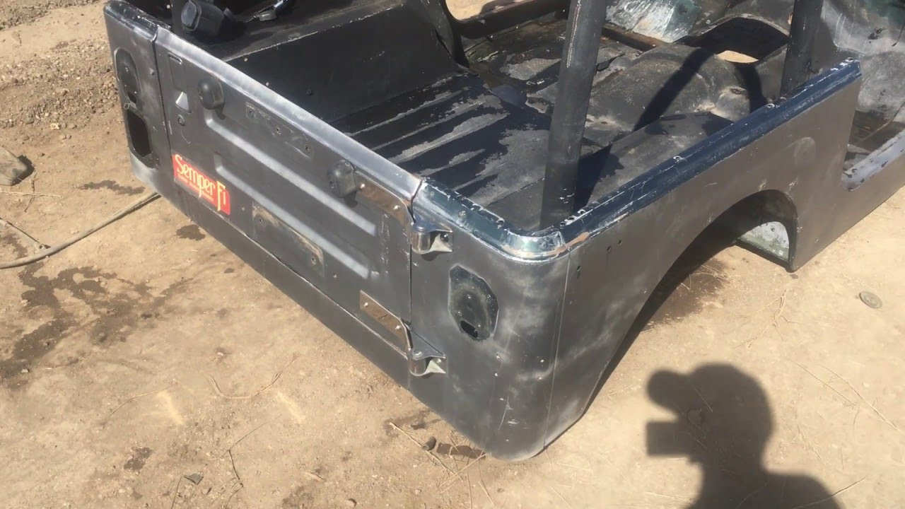 1987 1995 Or Cj7 Conversion Jeep Wrangler Yj Tub Body For Sale We