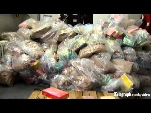 Police discover UK's largest ever cocaine haul