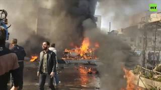 Car bomb kills at least 18 in Turkey-controlled Syrian city