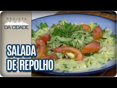 Receita de Salada de Repolho - Revista da Cidade (13/02/2017)
