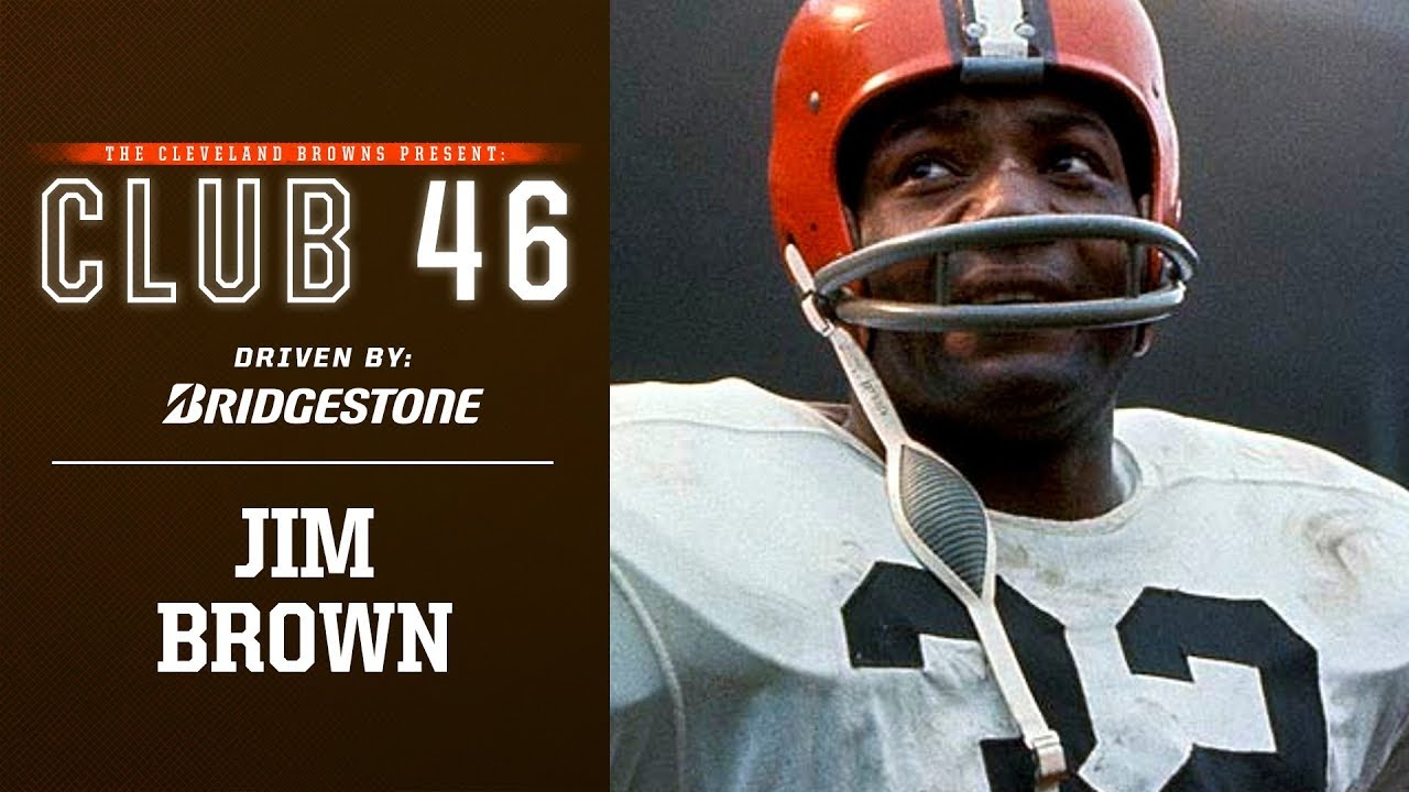 Jim Brown Football >> Memories From Club 46 Jim Brown Looks Back At Importance Of