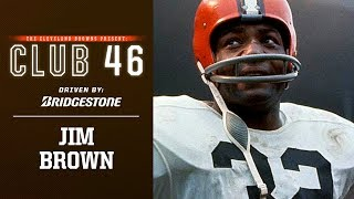 In this episode of club 46, hall famer jim brown sits down with jay crawford to discuss his athletic upbringing, path syracuse and eventually the b...