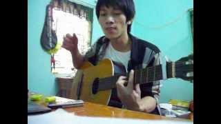 Chờ Người Nơi Ấy_Uyên Linh Guitar cover by Huy Vu