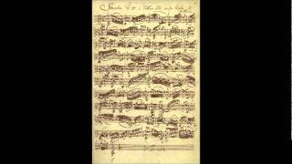 Adagio from Sonata in G minor by J. S. Bach - Sorin Alexandru Horlea