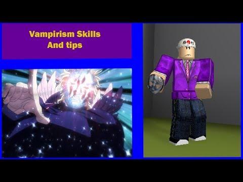 Roblox JoJo PHANTOM / How to use Vampirism