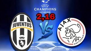 Ювентус - АЯКС прогнозы на матч и ставки на спорт. Лига чемпионов УЕФА. 90%