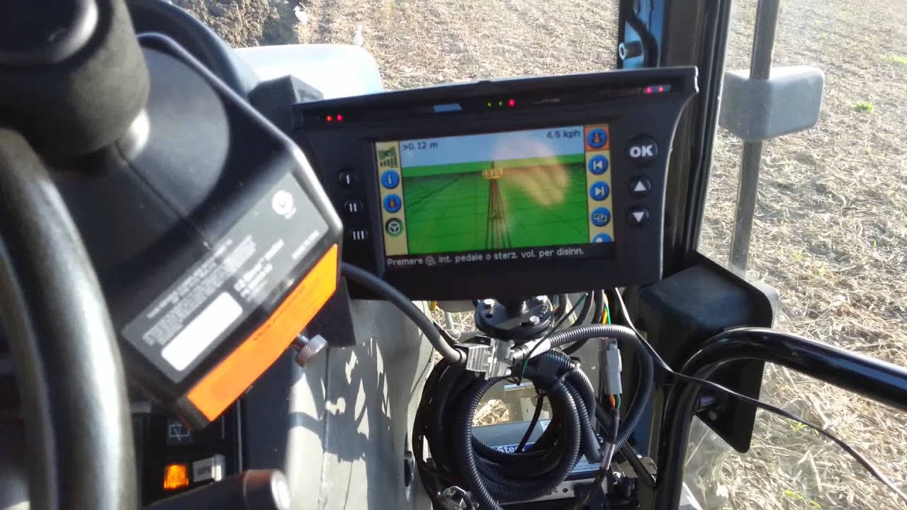 Ez steer ez guide 500 on new holland tm 135 by joy youtube sciox Images