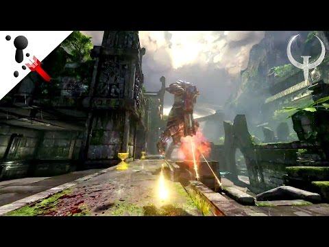 Quake Veteran Thoughts - Quake Champions Gameplay Trailer