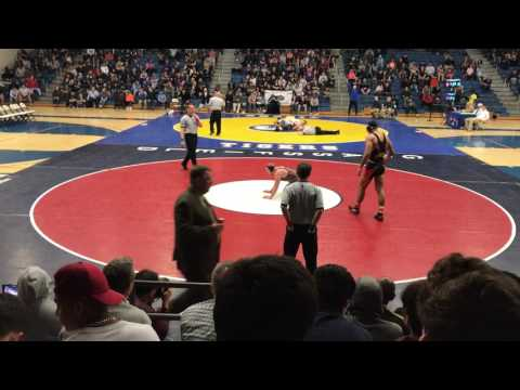 John Birchmeier Broad Run High school 2017 Virginia State Wrestling  Finals 220 lbs