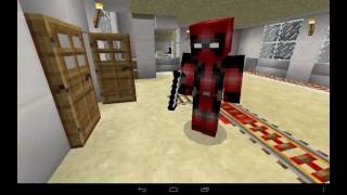 Дэдпул|DeadPool в Minecraft P.E.  [МИНИ ФИЛЬМ]