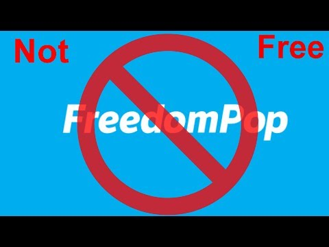 Don't Use Freedompop's Service, Not Even Close To Free.