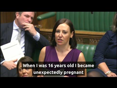 MP speech brings politicians to tears