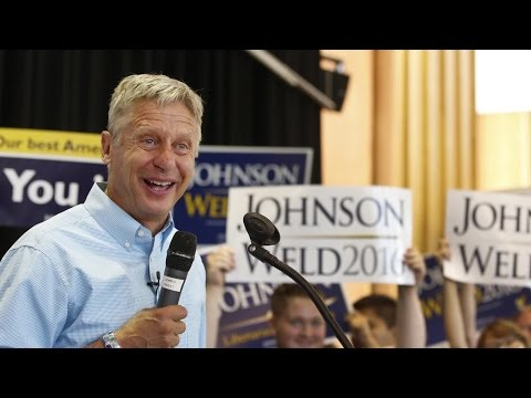 Who Benefits If Gary Johnson Crashes the Debate?