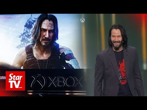 Xbox and Keanu Reeves unveil new console and games