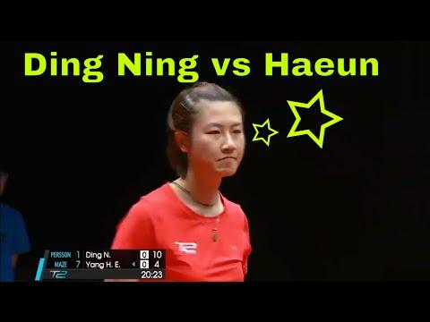 T2APAC 2017: Ding Ning (丁宁) vs Yang Haeun