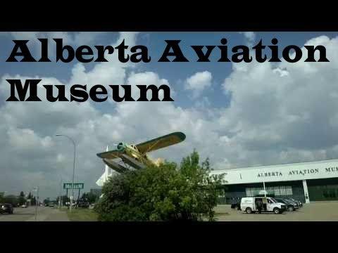 Visiting the Alberta Aviation Museum in Edmonton