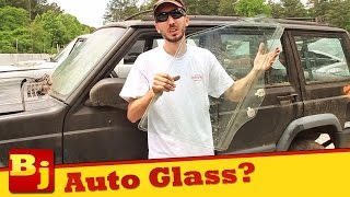 How To Remove Auto Door Glass