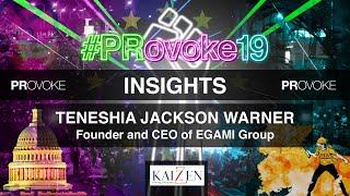 PRovoke19: Insights from Teneshia Jackson Warner