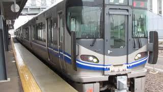 北陸本線521系3次車西金沢駅発車