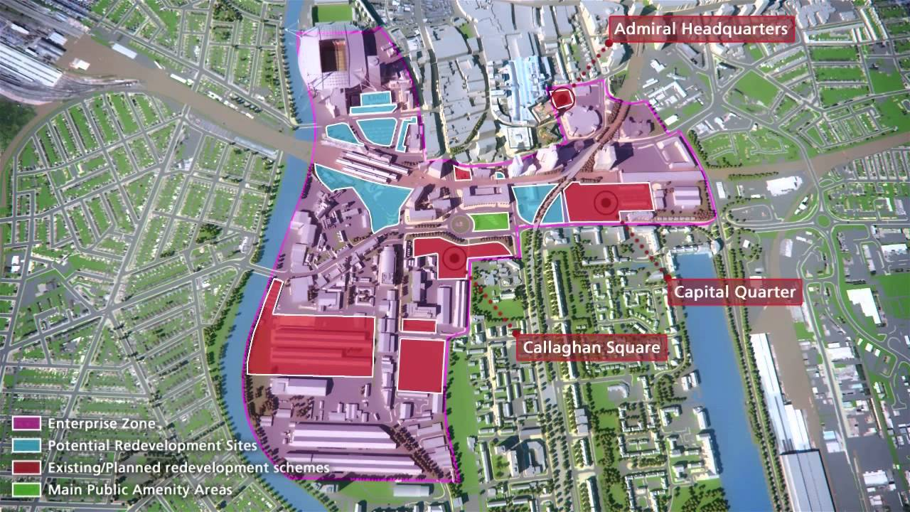 Home Zone Design Cardiff Part - 27: Welsh Government - Central Cardiff Enterprise Zone