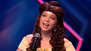 Nachtegaaltje Jaidy steelt de show als Belle - HOLLAND'S GOT TALENT