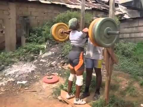 The strongest woman in africa ! AMAZING