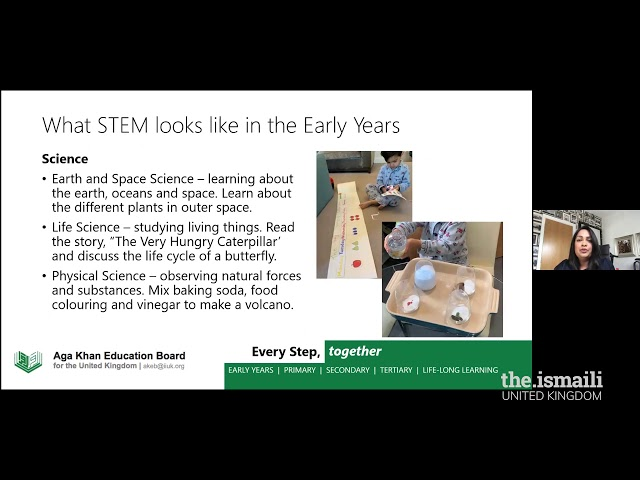 Pre-Primary and Primary Webinar - STEM Learning at Home - AKEB
