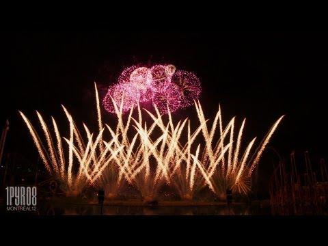ᴴᴰ Feux d'artifice Montréal 2012 - Japan (Feuerwerk, fireworks)
