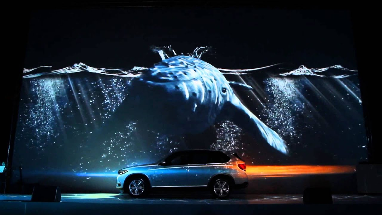 Bmw 3d Live Wallpaper Car Projection Mapping Youtube