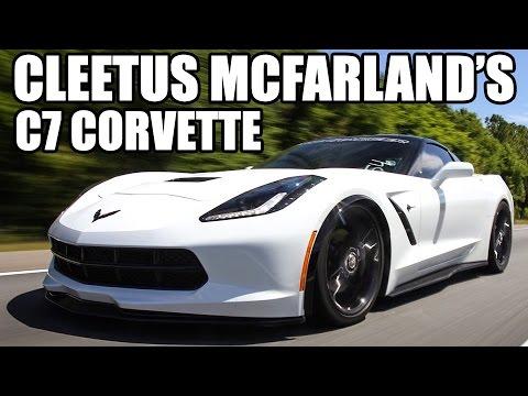 Cleetus McFarland's 800hp ProCharged C7 Corvette!