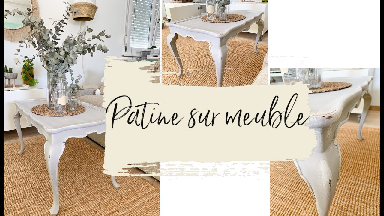 Diy Comment Patiner Un Meuble Youtube