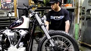 山梨県山梨市にある、バイクガレージココロの内田さんのインタビューを...