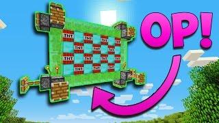 OVERPOWERED CANNON TROLLS! | Minecraft TNT Wars!