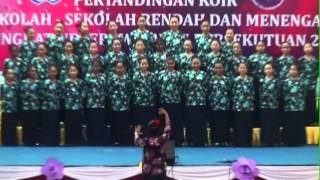CBN1 Choir 2012 Competition - Medley Kookaburra