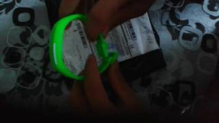 review B4A Unisex Casual LED Rectangle Sport Digital Bracelet Watch from Banggood.