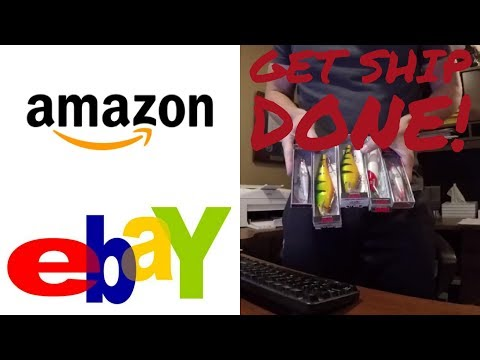 The BEST Way to Ship Internet Orders AMAZON EBAY WEBSITE