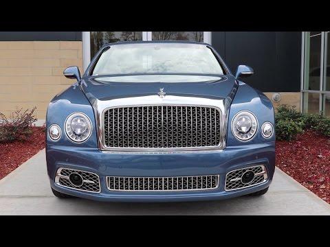 2017 Bentley Mulsanne Technical Review